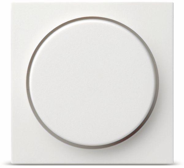 Bedienelement Drehdimmer GIRA System 55, 065003, reinweiß, glänzend
