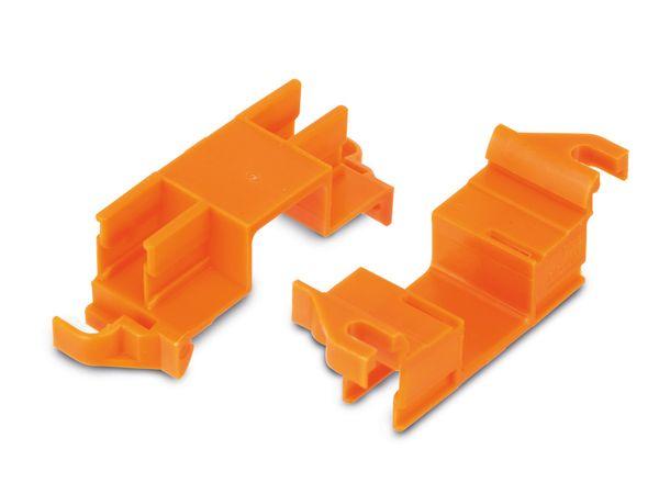 Steckklemmenhalter WAGO 243-112, 4-fach, 10 Stück