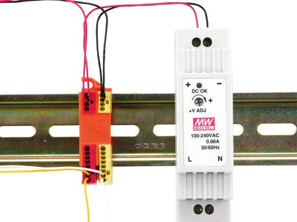 Steckklemmenhalter WAGO 243-112, 4-fach, 10 Stück - Produktbild 2