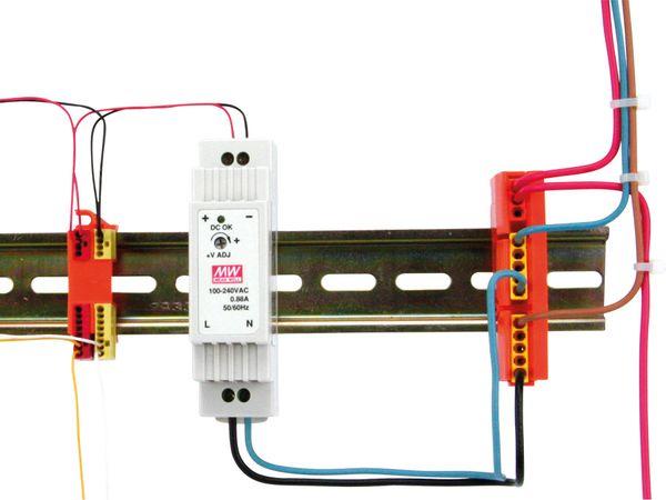 Steckklemmenhalter WAGO 243-112, 4-fach, 10 Stück - Produktbild 4