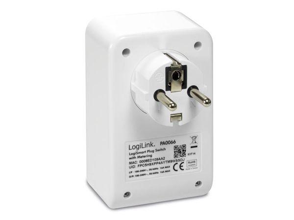 WiFi-Steckdose LOGILINK LogiSmart Plug Switch PA0066, mit Messfunktion - Produktbild 2