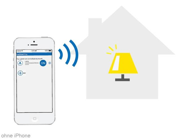 WiFi-Steckdose LOGILINK LogiSmart Plug Switch PA0066, mit Messfunktion - Produktbild 5