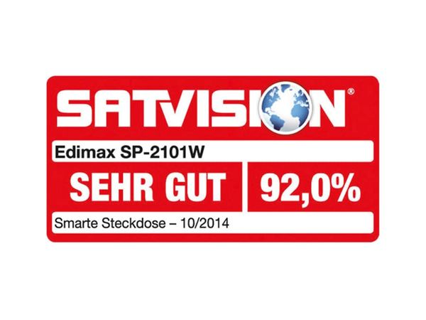 EDIMAX Smartplug SP-2101W WLAN-Schaltsteckdose - Produktbild 2