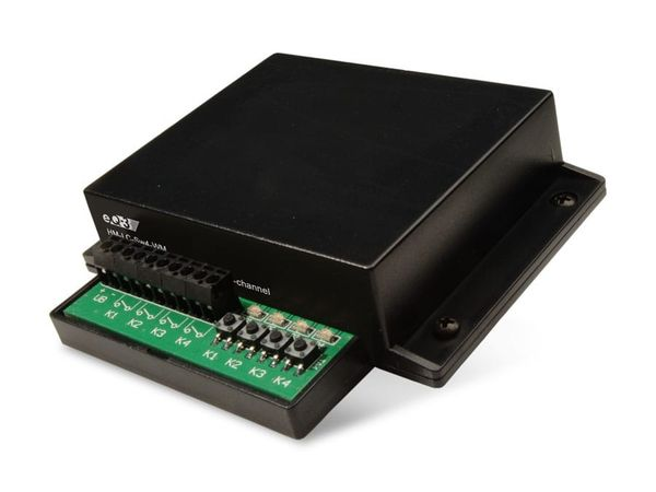 HOMEMATIC 99082 Funk-Schaltaktor, 4-Kanal, Wandmontage