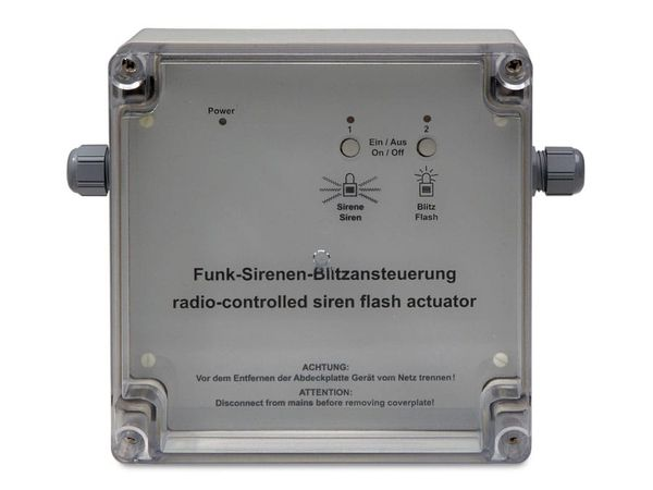 HOMEMATIC 084392 Funk-Sirenen- und Blitzansteuerung