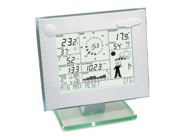 HOMEMATIC 083638 Funk-Wetterstation WCD 7000
