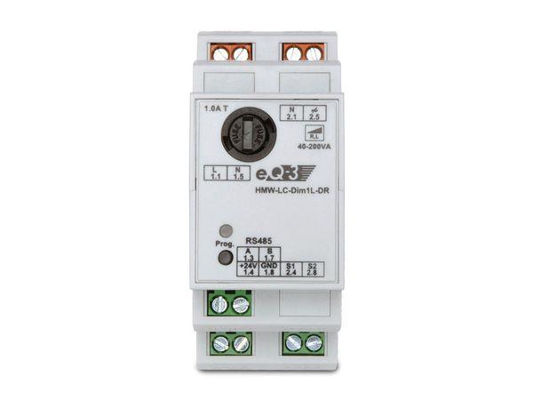 HOMEMATIC 076803 RS485 Dimmaktor für Hutschiene, 1-Kanal, Phasenanschnitt