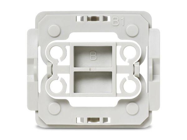 HOMEMATIC 103094 Installationsadapter BERKER (B1), 3er-Set