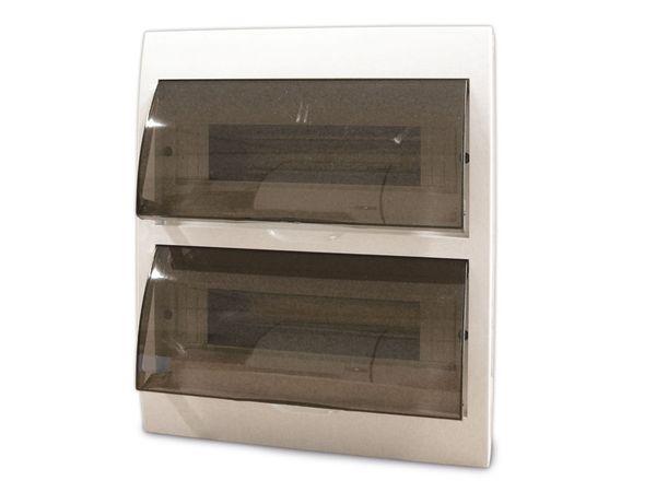 Kleinverteiler, mit Tür, AP, 24 TE