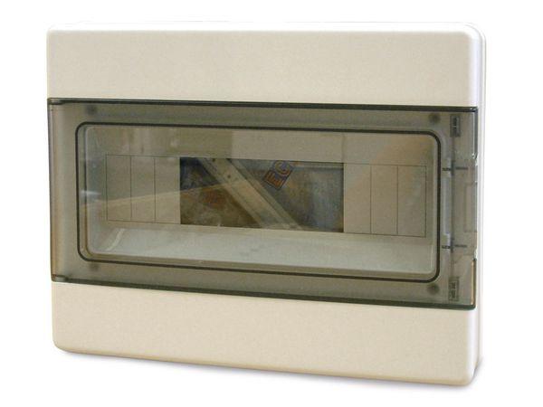 Feuchtraum-Kleinverteiler, mit Tür, AP, 12 TE