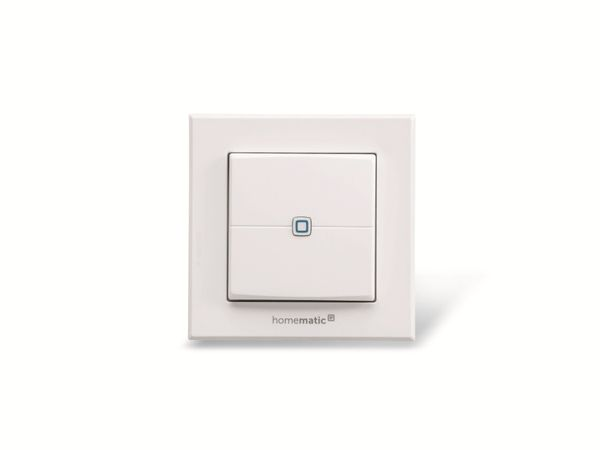 Smart Home HOMEMATIC IP 140665 Wandtaster, 2-fach - Produktbild 2