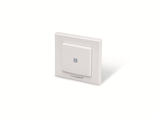 Smart Home HOMEMATIC IP 140665 Wandtaster, 2-fach - Produktbild 3