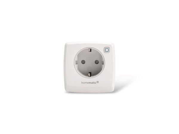 Smart Home HOMEMATIC IP 140666 Schalt-Mess-Steckdose - Produktbild 2