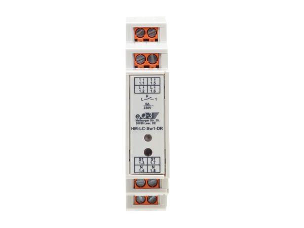 HOMEMATIC 1141378 Funk-Schaltaktor 1-fach, Hutschienenmontage - Produktbild 2