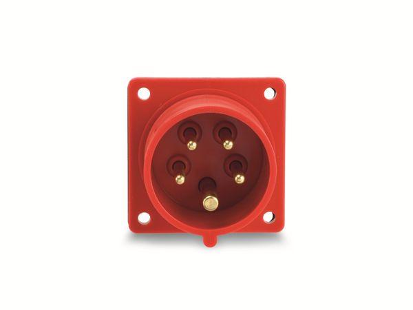 CEE-Anbaustecker PCE, 5-polig, 16 A, 400 V, IP44 - Produktbild 2