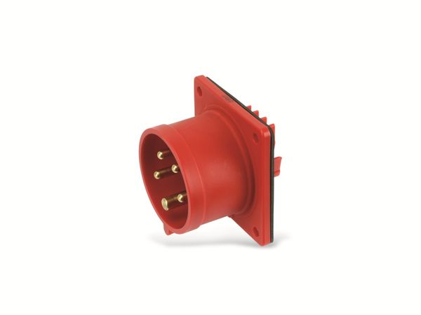 CEE-Anbaustecker PCE, 5-polig, 16 A, 400 V, IP44 - Produktbild 3