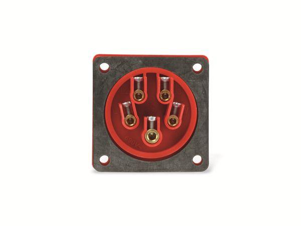 CEE-Anbaustecker PCE, 5-polig, 16 A, 400 V, IP44 - Produktbild 4