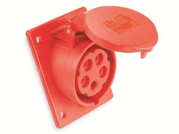 CEE Anbaukupplung PCE 415-6TT, 5-polig, 16 A, 230 V, IP44
