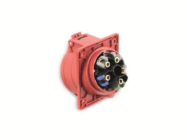 CEE Anbaukupplung PCE 415-6TT, 5-polig, 16 A, 230 V, IP44 - Produktbild 3
