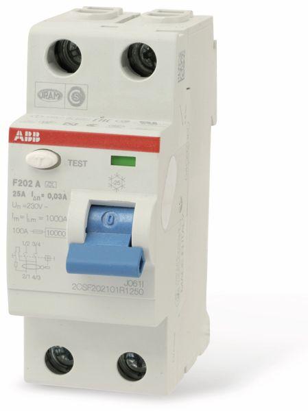 Fehlerstrom-Schutzschalter ABB F202A-25/0,03 - Produktbild 1