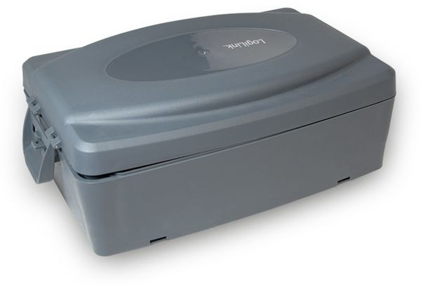 Sicherheits-Box LogiLink LPS223, grau, 302x210x115 mm - Produktbild 2