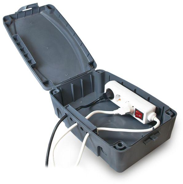 Sicherheits-Box LogiLink LPS223, grau, 302x210x115 mm - Produktbild 4