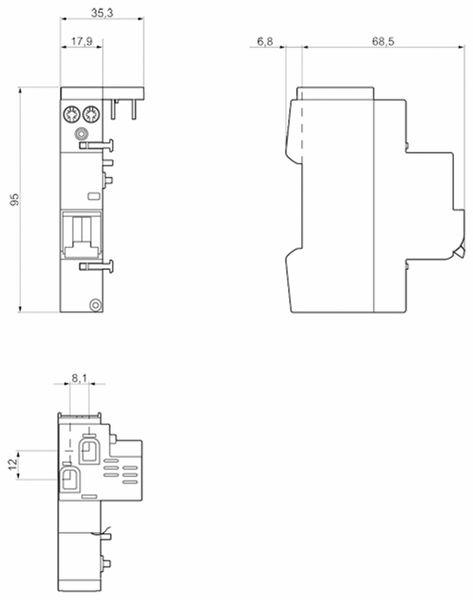 Brandschutz-Schalter SIEMENS 5SM6011-2 - Produktbild 2