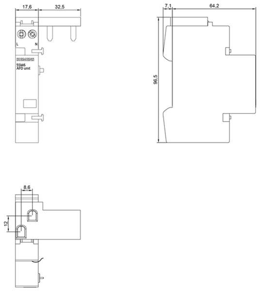 Brandschutz-Schalter SIEMENS 5SM6021-2 - Produktbild 2
