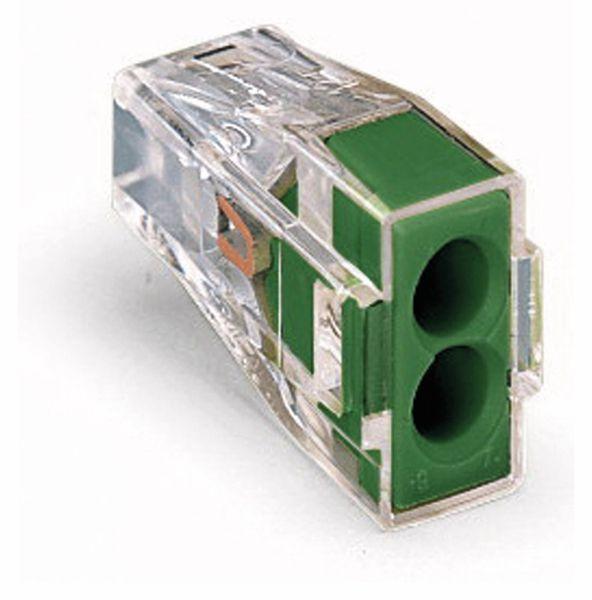 Verbindungsdosenklemme WAGO 773-112, 2 Leiter, transparent, 100 Stück