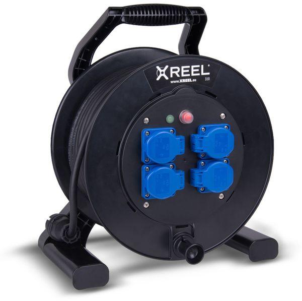 Kabeltrommel XREEL 310, 40m, IP54, 4-fach - Produktbild 1