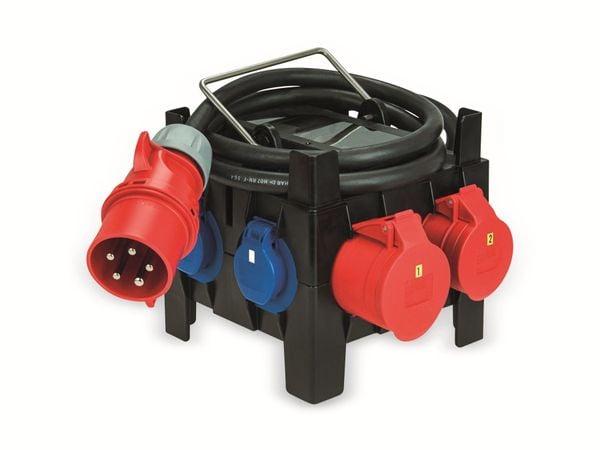 Stromverteiler, IMST, 1x CEE 16A & CEE 32, 4x Schuko