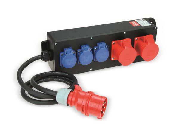 Stromverteiler, STEYREGG, PCE, 2x CEE 16A, 3x Schuko - Produktbild 1