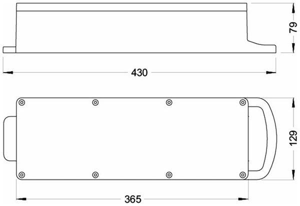 Stromverteiler, STEYREGG, PCE, 2x CEE 16A, 3x Schutzkontakt-Steckdose - Produktbild 2