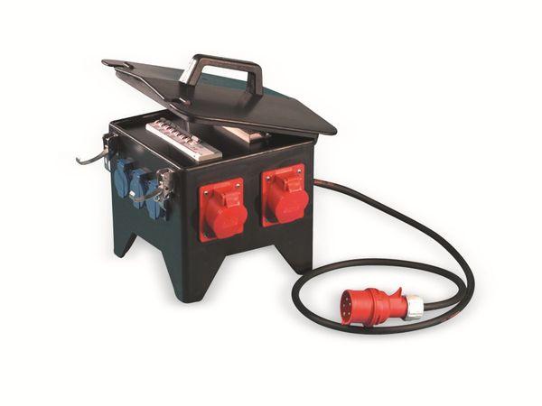 Stromverteiler, Spitz, PCE, 2x CEE 16A & 32A, 4x Schuko - Produktbild 1