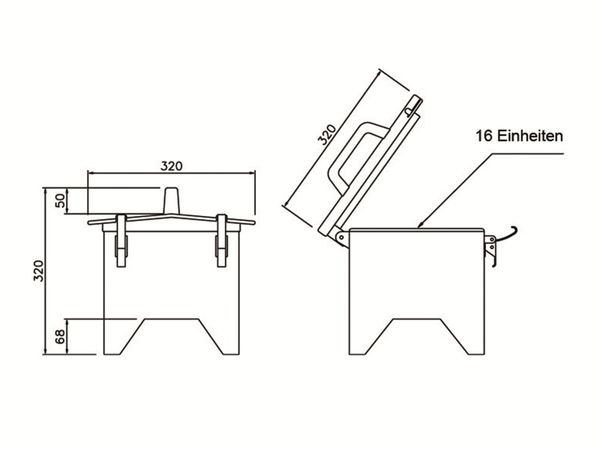 Stromverteiler, Spitz, PCE, 2x CEE 16A & 32A, 4x Schuko - Produktbild 2