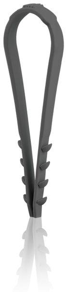 Stecklasche Spannbereich 3-13 mm, schwarz, 200 Stück