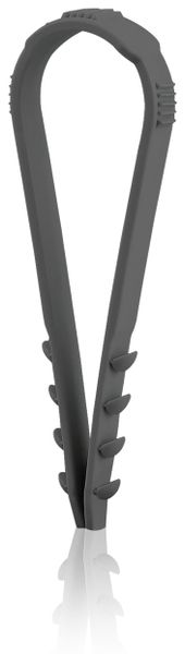 Stecklasche Spannbereich 6-20 mm, schwarz, 200 Stück