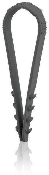 Stecklasche Spannbereich 8-28 mm, schwarz, 100 Stück