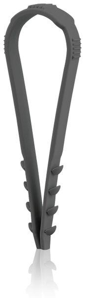 Stecklasche Spannbereich 20-40 mm, schwarz, 100 Stück