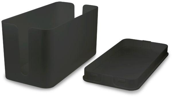 Kabelbox LOGILINK KAB0060, schwarz - Produktbild 3