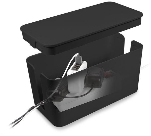 Kabelbox LOGILINK KAB0060, schwarz - Produktbild 4