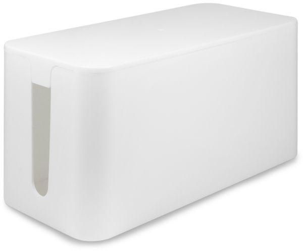 Kabelbox LOGILINK KAB0061, weiß - Produktbild 1
