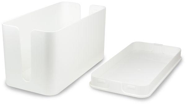 Kabelbox LOGILINK KAB0061, weiß - Produktbild 3