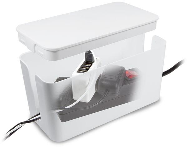 Kabelbox LOGILINK KAB0061, weiß - Produktbild 6