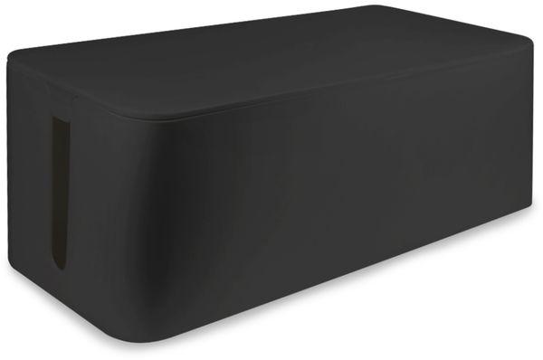 Kabelbox LOGILINK KAB0061, schwarz - Produktbild 1