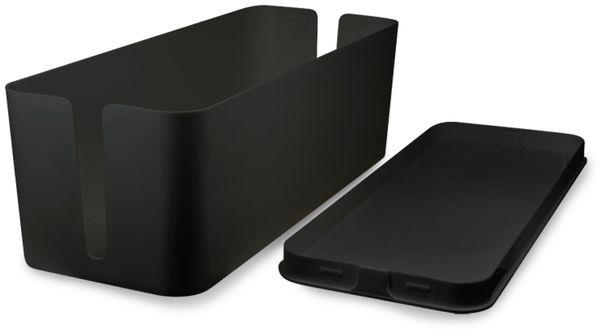 Kabelbox LOGILINK KAB0061, schwarz - Produktbild 3