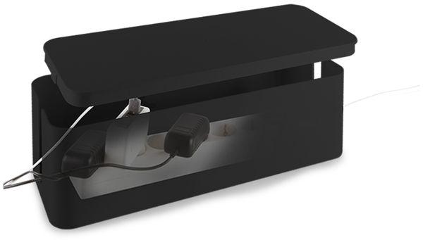 Kabelbox LOGILINK KAB0061, schwarz - Produktbild 4
