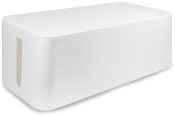 Kabelbox LOGILINK KAB0062, weiß