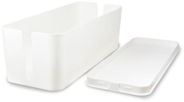Kabelbox LOGILINK KAB0062, weiß - Produktbild 3