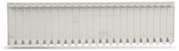 Abdeckstreifen, 12 Einheiten, lichtgrau, 10 Stück - Produktbild 1